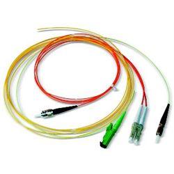 Dätwyler Cables LC OM3 2m cavo a fibre ottiche Turchese