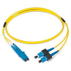 Dätwyler Cables 421312 cavo a fibre ottiche 2 m LCD SCD OS2 Giallo