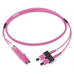 Dätwyler Cables 431342 cavo a fibre ottiche 2 m LCD SCD OM4 Viola