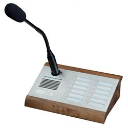 2N Telecommunications 914431E microfono Table microphone Marrone, Argento