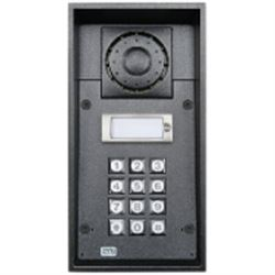 2N Telecommunications 9151101KW sistema intercom audio Nero