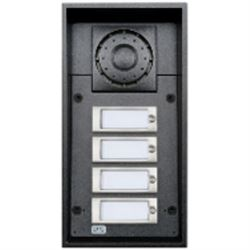 2N Telecommunications 9151104W sistema intercom audio Nero