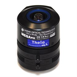 Axis Theia Varifocal Ultra Wide Lens Obiettivo ultra-ampio Nero
