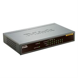 D-Link DES-1008PA switch di rete Non gestito Fast Ethernet (10/100) Nero Supporto Power over Ethernet (PoE)