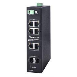 VIVOTEK AW-IHT-0800 switch di rete Non gestito L2 Gigabit Ethernet (10/100/1000) Nero Supporto Power over Ethernet (PoE)
